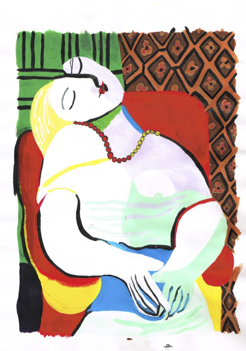 Peinture Picasso